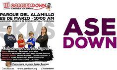 III CorrienDown el domingo 26 marzo en el Parque del Alamillo.