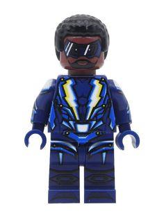 Lego Custom Minifigures, Black Lightning, Lego Dc, The Cw, Popular Culture, Minecraft, Pop Culture, Action Figures, Star Wars