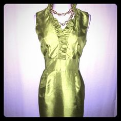 Flirty Dress This is fabulous flirty dress. This dress is 100% polyester. It is fully lined and the lining is 100% polyester. Jessica Howard Dresses