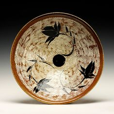 Schaller Gallery Represented Maker: Jane Shellenbarger - Rochester, New York Piece: Large Serving Bowl American Crafts, American Art, History Of Ceramics, Kansas City Art Institute, Rochester Institute Of Technology, San Angelo, University Of Arkansas, Black Clay, Southern Illinois