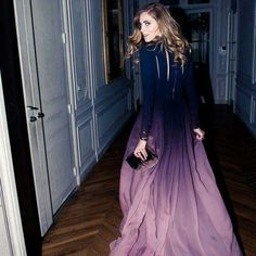 Elie Saab Couture Again an elegant double shade gown, lovely