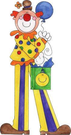 quenalbertini: Tita K - Picasa Web Albums Birthday Clown, Clown Party, Birthday Clipart, Art Birthday, Image Cirque, Easter Crafts, Crafts For Kids, Circus Crafts, Le Clown