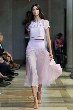 Carolina Herrera S/S 16 Mercedes Benz NY Fashion Week
