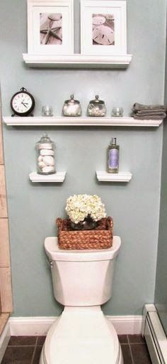 Small Bathroom Inspiration U0026 Organization// Would Be Great For Our Toilet  Room.