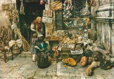 """Emo Mazzetti, """"Bottega veneziana"""", 1905"""