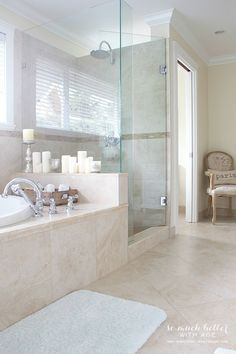 marble floor bathroom contemporary master bathroom with crema marfil honed 6 quot x 13586