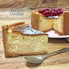 You searched for Queso quark - Divina Cocina Cheesecake Recipes, Pie Recipes, Sweet Recipes, Dessert Recipes, Cakes And More, No Bake Desserts, Yummy Cakes, Let Them Eat Cake, Sweet Treats