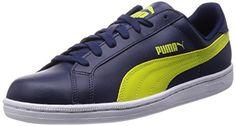 Puma Puma Smash L, Unisex-Erwachsene Sneakers, Blau (peacoat-sulphur spring 12), 42 EU (8 Erwachsene UK) - http://autowerkzeugekaufen.de/puma/42-eu-puma-smash-l-unisex-erwachsene-sneakers-46-eu
