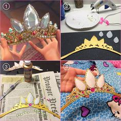 GLITZY GEEK GIRL: Tutorial: Rapunzel Tiara