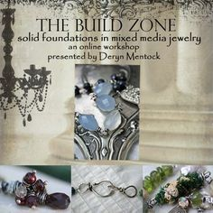 Deryn Mentock-I'm raffling off spots in my online Build Zone class, jewelry and tutorials...for an awesome cause. Wanna win? http://somethingsublime.typepad.com/something_sublime_from_th/2013/03/im-holding-a-big-raffle.html