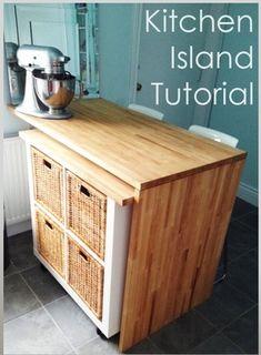 Como hacer una barra de cocina con isla