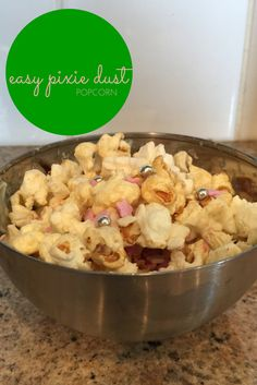 easy pixie dust popcorn recipe - the gingerbread house