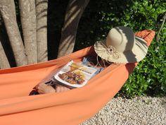 Hammock chillin' Shepherds Hut, Algarve, Glamping, Hammock, Luxury, Hats, Fashion, Moda, Hat