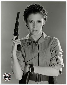 Star Wars: Return of the Jedi - Carrie Fisher as Princess Leia Promotional Photo Star Wars I, Film Star Wars, Leia Star Wars, Blade Runner, Star Wars Brasil, Carrie Frances Fisher, Erin Gray, Princesa Leia, The Blues Brothers