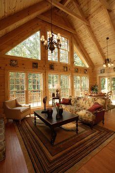 Southland Log Home Photos & Pictures | Rockbridge 003