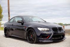 BMW E92 M3 black MWDesign Darth Maul Project