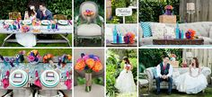 Vibrant colors wedding. http://blog.love-live.ru/25_ideas_summer_wedding