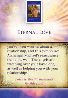 Angel Messages by Doreen Virtue through Hay House Eternal Love Part 2