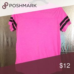 Baseball T-Shirt Baseball T-Shirt PINK Victoria's Secret Tops Tees - Short Sleeve
