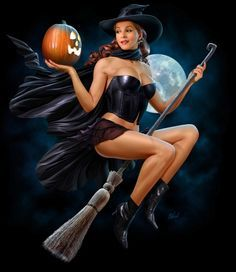 halloween beautiful redhead witches pictures - Google Search