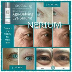 Recent results from Nerium Age-Defying Eye Treatment. order directly from www. Nerium International, Loose Skin, Eye Treatment, Puffy Eyes, Eye Serum, Aging Gracefully, Makeup Looks, Skin Care, Face