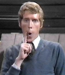 "Some mothers do 'ave 'em - Michael Crawford as Frank Spencer ""Mm, Betty. The cat's just done a whoopsie on the carpet!"""