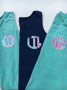 Lilly Applique Big-Lil-GB sorority Shirts by kyistitches on Etsy