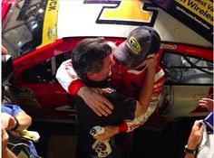 Tony and Kevin after the race 11/16/14 Miami...