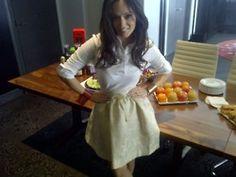 Pamela Pekerman    EDNY White Classic Shirt Pamela, Apron, Fashion, Moda, Fashion Styles, Fasion, Aprons