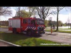 04-04-2016 TS 06-7733 rijdt prio 2 over de Kayersdijk in Apeldoorn