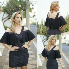 Boa noite, Meninas! Olha que luxo o vestido com detalhe babado na cor preta. Disponível no tamanho M. Enviamos para todo Brasil.  ##vestidos #dress #talgui #talguistore #moda #model #modaparameninas #modaparamulheres #itgirls #ootd #santóllomodas