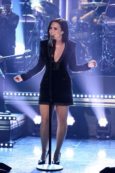Demi Lovato on the Tonight Show with Jimmy Fallon - October 30th