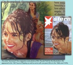 The book: You Can Live Forever In Paradise On Earth uses German magazine cover photo of sex model Pascale Petit Ex Jehovah Witness, Jehovah S Witnesses, Where In The Bible, Emotional Blackmail, Forever Book, Paradise On Earth, Beautiful Love, Atheism, Cover Photos