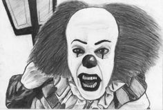 Stephen King's Pennywise IT by NymphetamineSyndrome.deviantart.com on @deviantART