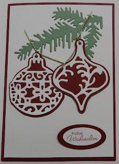 Card with Marianne Design Creatables