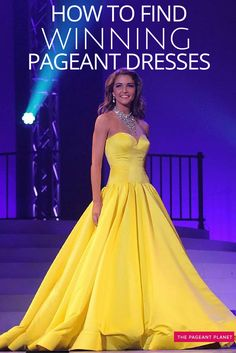 In pageantry the challenge is not finding pageant dresses, the challenge is how do you find a WINNING pageant dress. Below you are going to discover the secrets of how to weed through the 1,000s of pageant gowns that are created annually to find the dress that is going to highlight your strengths and minimize your weaker areas to position you as the best contestant to win the crown.