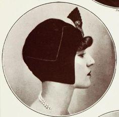 Les Modes (Paris) November 1927 chapeau du soir par Cora Marson