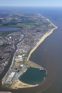 Great Yarmouth in Norfolk - Aerial Image   by John D F