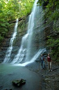 twin falls, jasper ar. List of all hiking places in arkansas