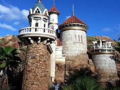 Prince Eric's Castle, oh Ariel, you really found a gem!