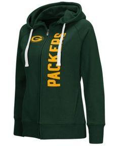 59b80c8dc G-iii Sports Women s Green Bay Packers 1st Down Hoodie - Green S  Hoodie