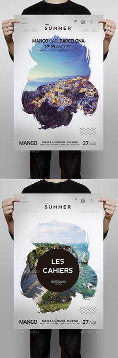 Summer Flyer — Photoshop PSD #summer party #travel • Available here → graphicriver.net/...