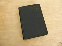 Vintage Book Watch Officers Guide Navy Officer Military Book US Navy Book Military Memorabilia USN Wartime Nautical Book Officers Handbook by HipCatRetroVintage on Etsy