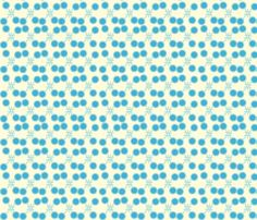 Blue Infection by crycepaul on Spoonflower - custom designed fabric, wallpaper and decals  Visit my shop on www.Spoonflower.com