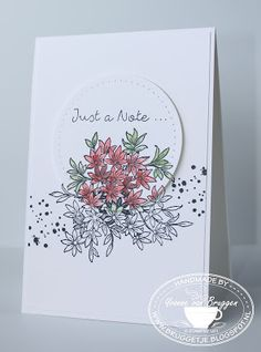 Yvonne is Stampin' & Scrapping: Stampin' Up! Awesomely Artistic #stampinup