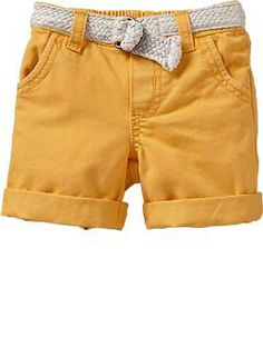 Belted Shorts for Baby   Old Navy