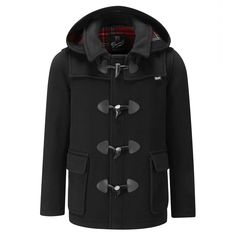 Men's Shorty duffle with Detachable Hood - Mens | Gloverall