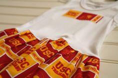 Little Girls USC Dress!! Can't wait to dress my lil ones in usc gear, FIGHT ON!