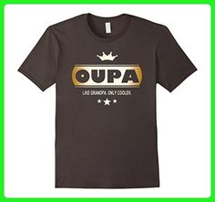 Mens Oupa Like Grandpa Only Cooler Tee-Shirt in Afrikaans 2XL Asphalt - Relatives and family shirts (*Amazon Partner-Link)