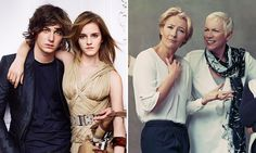 STRIKE A POSE: Emma T. starred alongside fellow influential women Annie Lennox, Annie Leibovitz and Lulu Kennedy in Marks and Spencer's spring/summer 2014 campaign. Emma W. spent some time as the face of Burberry and has been one of Lancôme's beautiful brand ambassadors since 2011.  Photos: Burberry/Marks & Spencer